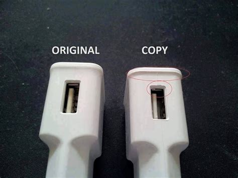 How to Differentiate between Original and Copy Charger and