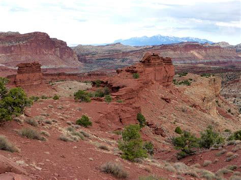 Sunset Point Trail, Capitol Reef National Park, Utah