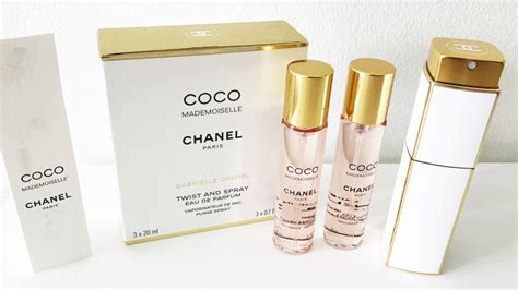 UNBOXING CHANEL TWIST AND SPRAY PERFUME (WHITE AND GOLD