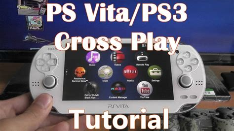 PS Vita & PS3 Cross Play - How to Transfer Games - YouTube
