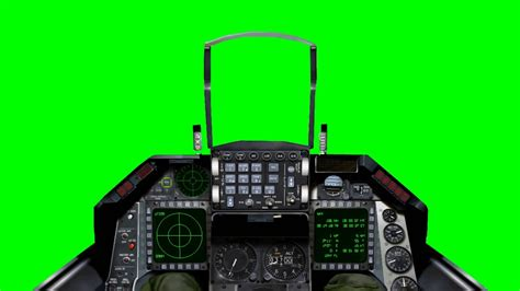 Jet Cockpit view - FreeHDGreenscreen Footage - YouTube